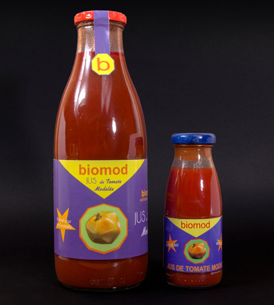 Juice from Modelled Tomato - biomod